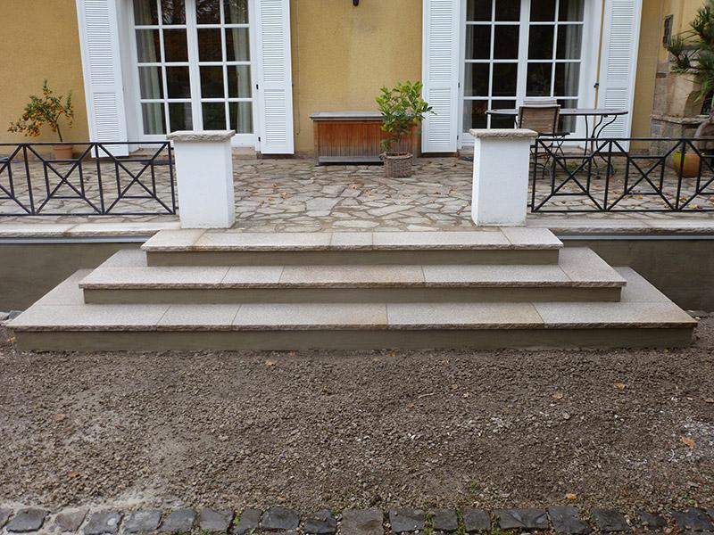 Gut gemocht Mauern und Treppen   Waigel - Der Garten GmbH MS01